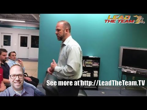 Sales Meeting (excerpt) - Goal Setting Piece (Shawn Hays as Example) | Sales Training | Motivation