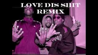 Barz da cutta-love dis shit remix ft. Pressha