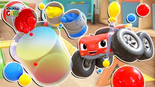 Learn Colors and Color making play   Kids Songs Educational for Kids Tomoncar World