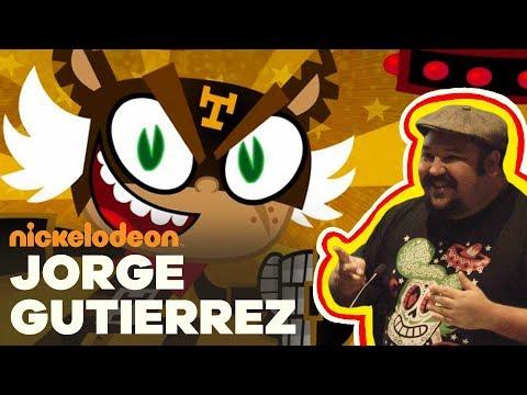 Jorge R. Gutiérrez, Co-Creator of El Tigre   Nick Talks   Nickelodeon Animation