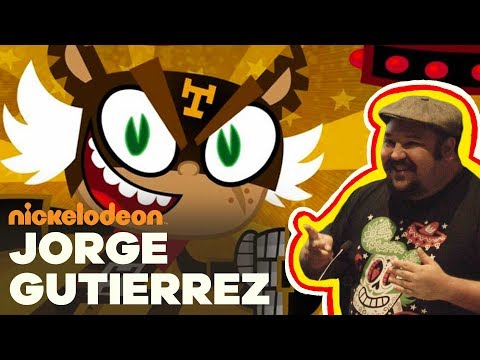 Jorge R. Gutiérrez, CoCreator of El Tigre  Nick Talks  Nickelodeon Animation