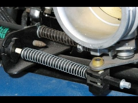 Ford Quick Tips: 33 AOD Transmission Loss of Overdrive TV Cable Bushing Inspection