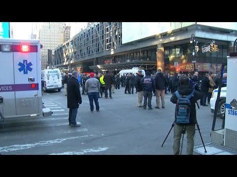 Police investigate attempted bombing near Port Authority