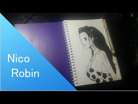 SpeedDrawing Manga : Robin - Punk Hazard