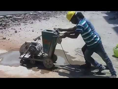 Ganmar Concrete Diamond Cutting Contractors in Chennai India-Building Cutting & Demolition view