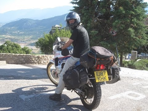 [Slow TV] Motorcycle Ride - Greece - Ioannina to Meteora (bis)