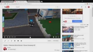 Roblox - Pokemon Brick Bronze - Eevee Giveaway Gewinner #2