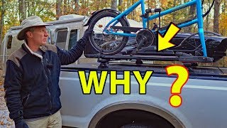Our Yakima/Thule Truck/RV Bike Storage -- What We Like and HATE About It :O