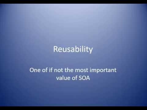 Reusability SOA Concept