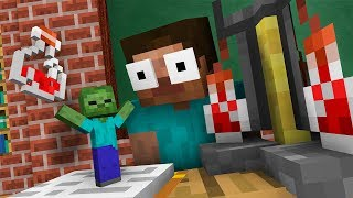 Monster School : FUNNY BREWING CHALLENGE - Minecraft Animation