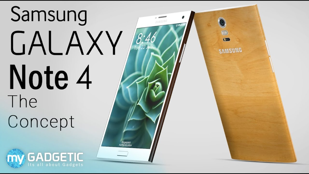 Samsung Galaxy Note 4 Bamboo Ceramic Edition Concept Tour Youtube