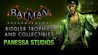 Batman: Arkham Knight - Riddler Trophies - Panessa Studios