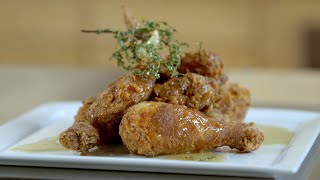 How to Make Fried Chicken with Honey with Chefs Edward Lee and Ashley Christensen