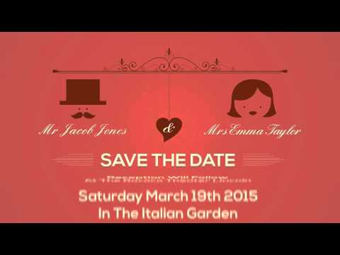 Wedding Engagement Birthday Invitation Cards Youtube