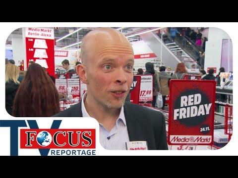 Black Friday: Schnäppchenjagd fürs Weihnachtsfest - Focus TV Reportage