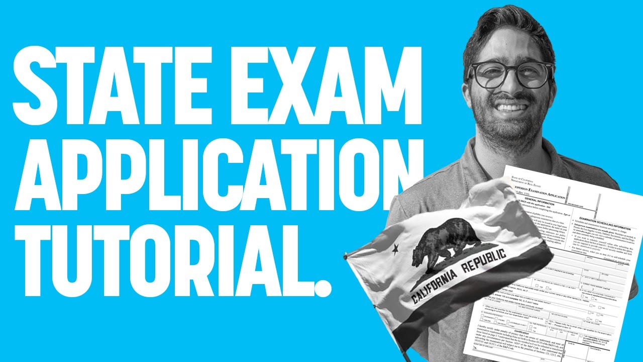 State Exam Application Tutorial   How To Apply