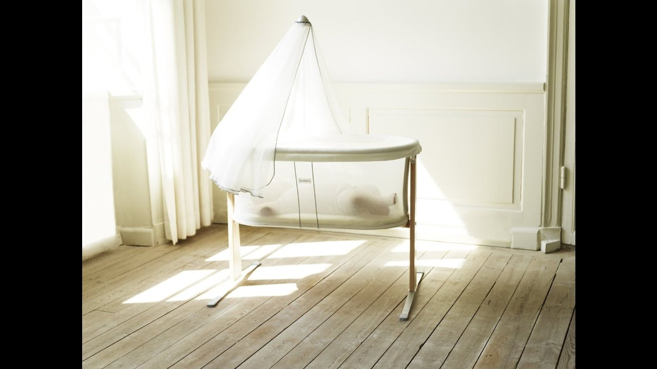 review: babybjorn cradle - white - youtube - Babybjorn Babywiege Design Harmony