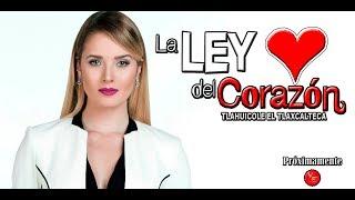 Remake de la telenovela La Ley Del Corazón primer protagónico de Kimberly Dos Ramos 2018