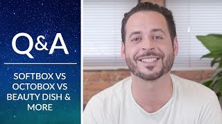Phlearn Q&A | Softbox, Octabox, Beauty Dish & Prime vs. Zoom Lenses