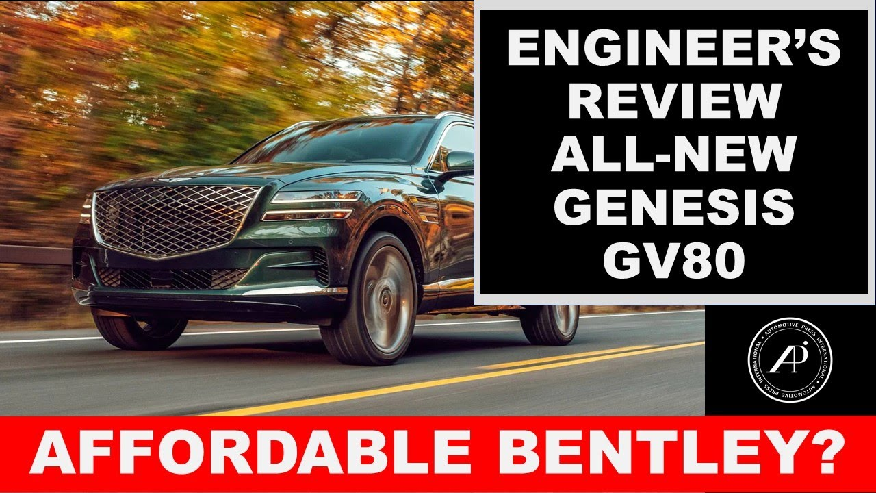 BEST LUXURY SUV? 2021 Genesis GV80 is so good that it can compete with SUVs costing twice as much!