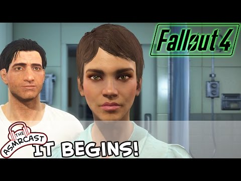 ASMR Gaming - Fallout 4 PC (Binaural 3D & Sound Effects) It Begins #1