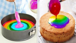 RAINBOW DESSERT COMPILATION || Colorful And Yummy Food Ideas You'll Want To Try