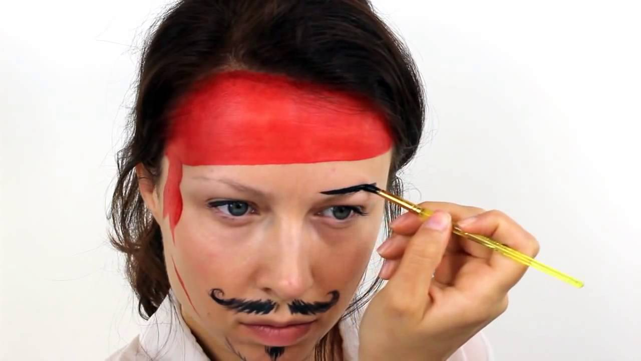 beginners pirate face painting tutorial snazaroo youtube