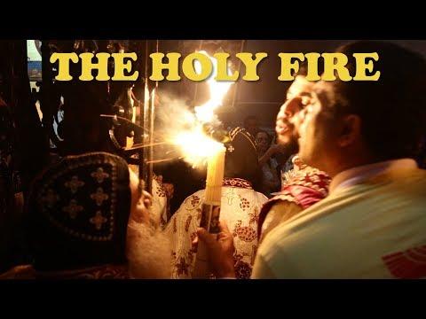 The miracle of the holy fire in JERUSALEM 2018 - Церемония священного огня Иерусалим - 2018