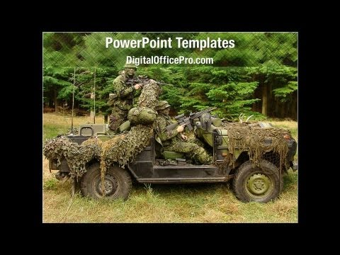 Military Operations Powerpoint Template Backgrounds
