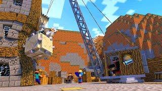 SZALONA BUDOWA!  #TritsusSpa | Minecraft Jeż Na Ferajnie! Tritsus