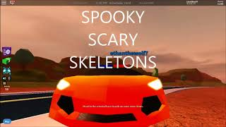 Spooky Scary Skeletons Remix | Roblox Music Video