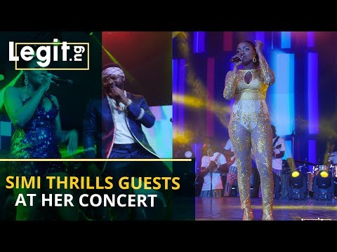 Simi, Falz wow audience with amazing performance at her concert | Legit TV