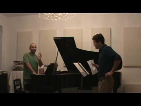 Voix NY Series 001  Masterclass with Mikhail Hallak- Tenor Robert Branning