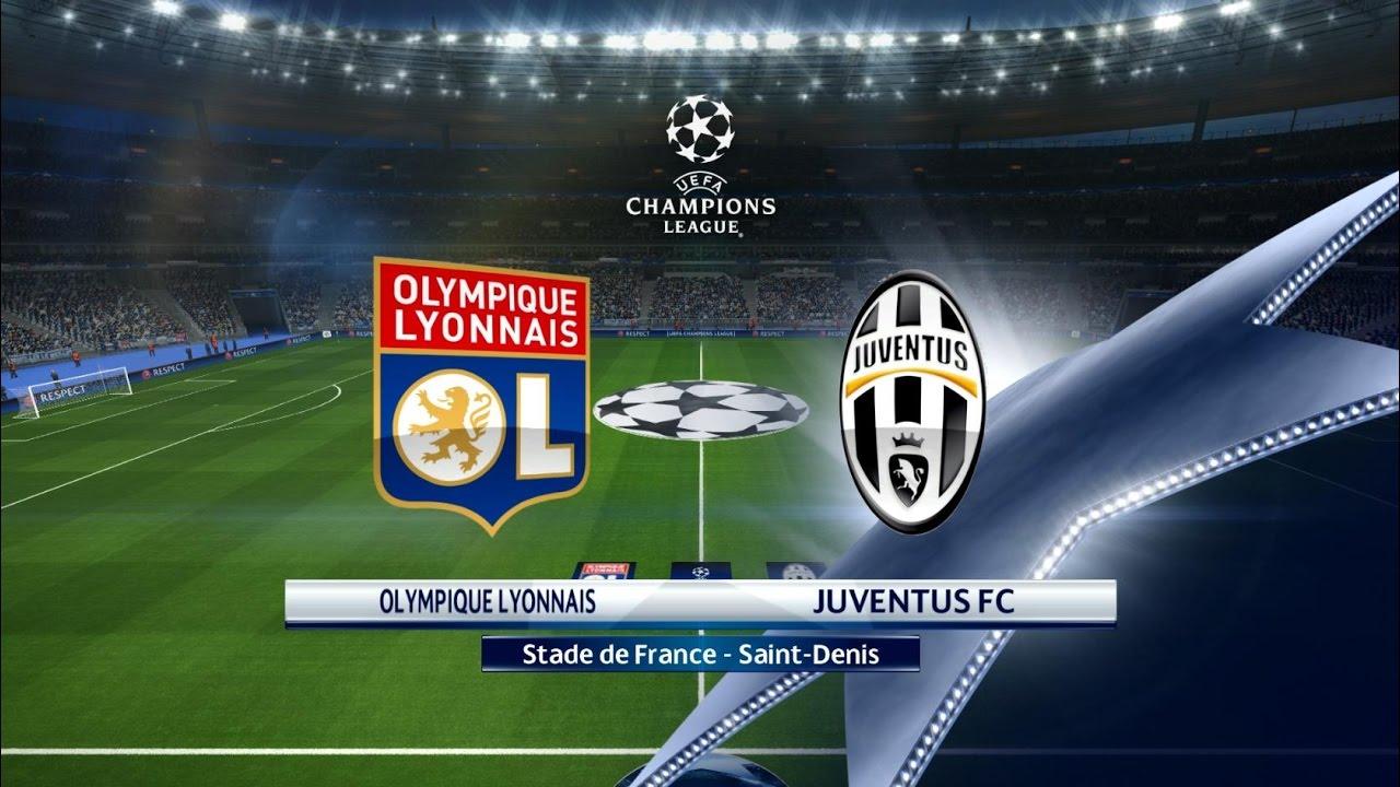 7406d7a24 PES 2017 Champions League - Olympique Lyon vs Juventus Turin - YouTube