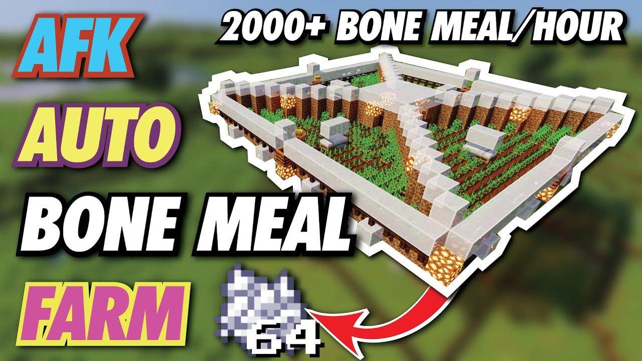 Tutorials Bone Meal Farming Official Minecraft Wiki