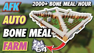 EASY BONE MEAL FARM - 2000+ per HOUR Using Baked Potatoes | *1.14/1.15/1.16*