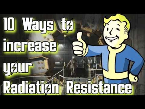 Fallout 4: How to increase your radiation resistance
