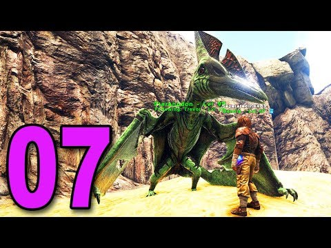 ARK: Survival Evolved Multiplayer  Part 7  HOW TO CATCH A BIRD DINO
