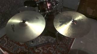 "Zildjian 21"" A sweet ride VS 20"" K ride"