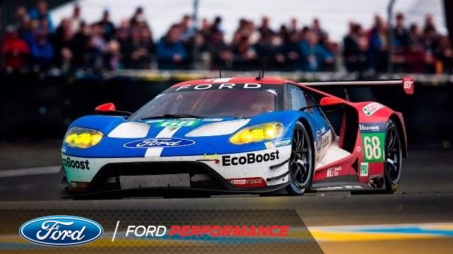 360 Experience Lap of Winning Ford GT 68  Le Mans  Ford