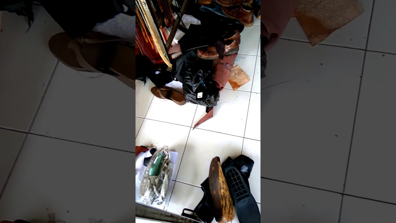 Memperbaiki Sandal Dan Sepatu Youtube