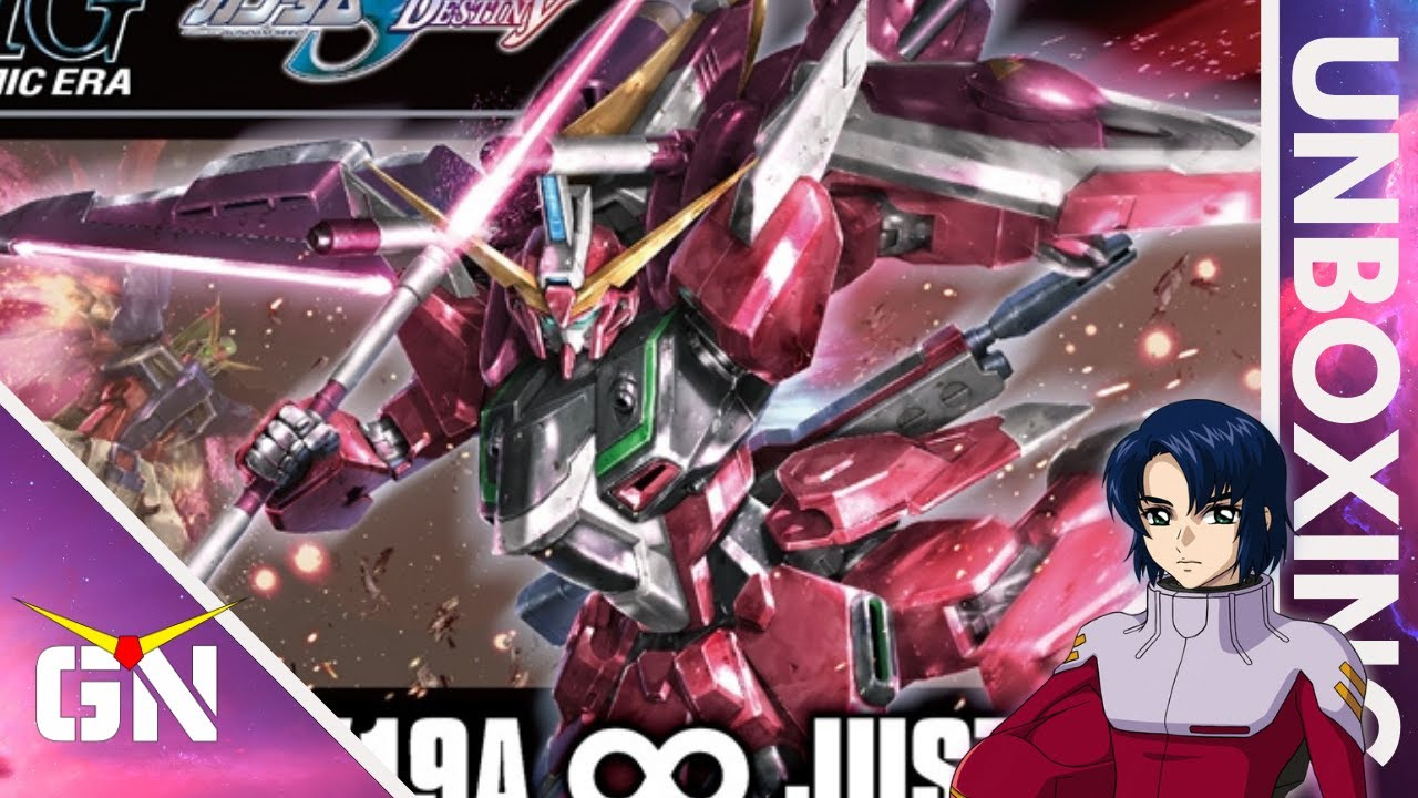 The Evolution Of The Seed Line HG 1/144 Infinite Justice | Unboxing