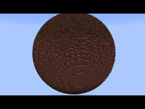 карты на майнкрафт 1710 на шар из динамита из 1000000000 блоков #7