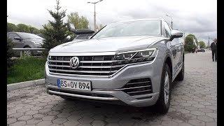 Новый VW Touareg 2018 проездом в Алматы.