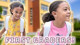 FIRST DAY OF SCHOOL in a NEW STATE | 1ST GRADE
