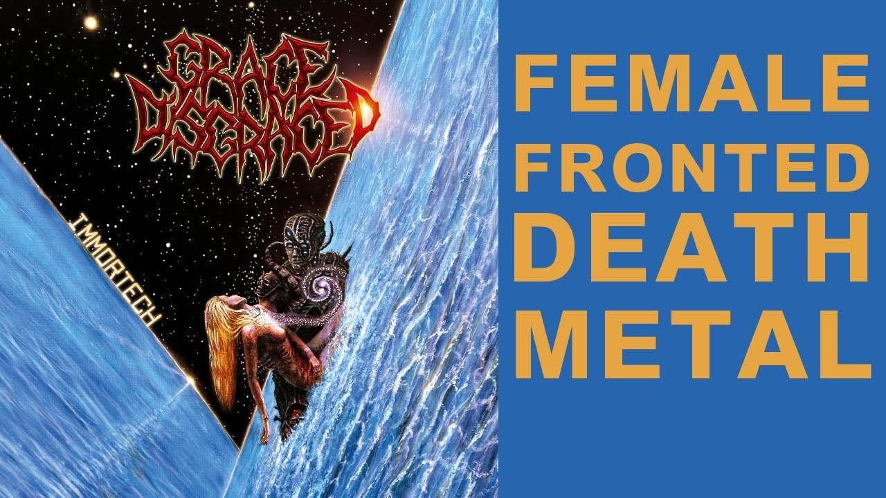 Grace Disgraced – Immortech (Female Fronted Technical Death Metal) Full Album 2020