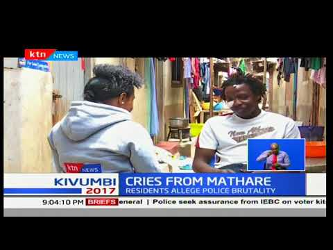 Mathare brutality: Allegations leveled against the police officers for using excessive force
