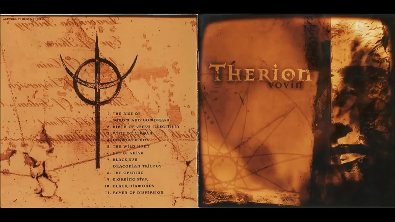Therion - Vovin 1998 FULL ALBUM