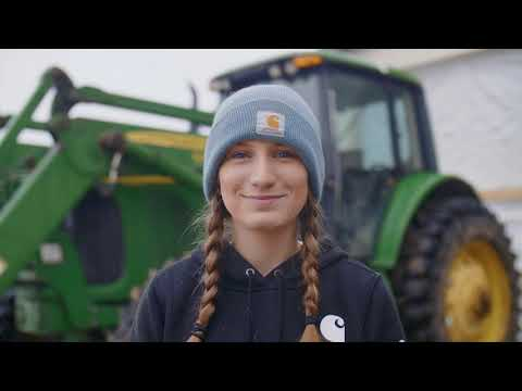 Building a Career in Organic Dairy – Future Organic Farmer Shannon Good