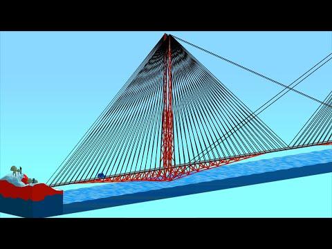 Building The World's Longest Bridge To Prepare For Poly Bridge 2